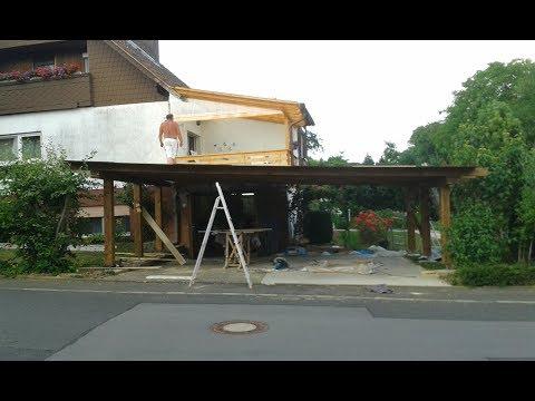 Mega Projekt Carport Teil 2/4 | Carport Selber Bauen (Auto Garage)