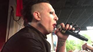 4 - mOBSCENE - Marilyn Manson (Live in Charlotte, NC - 8/02/16)