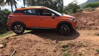 Nissan kicks diesel driving offroad
