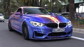 Hamann BMW M4 Art Car - BRUTAL Accelerations & TUNNEL REVS!