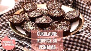 Recepti u trendu: Čokoladne korpice sa višnjama (10. epizoda)