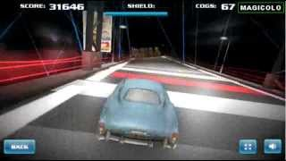 Cars 2 game Spy Test Track - 3D racing game 2014