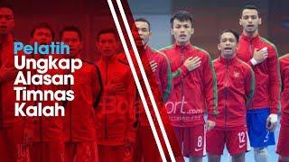 Pelatih Timnas Futsal Indonesia Ungkap Alasan Kekalahan Indonesia dari Malaysia