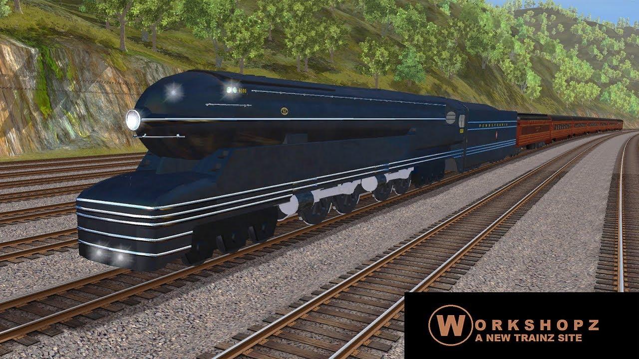 Trainz A New Era [ Workshopz Add-On ] - PRR S1 (FreeWare)
