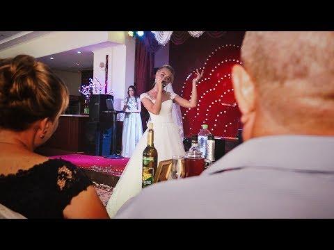 Сногсшибательные слова благодарности невесты своим родителям!!! Зацепила!!! - Ржачные видео приколы