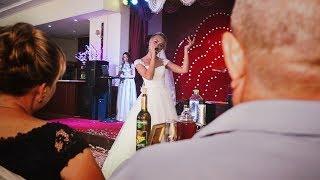 Сногсшибательные слова благодарности невесты своим родителям!!! Зацепила!!!