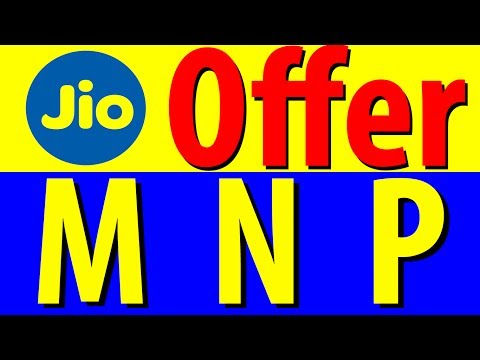 Reliance Jio MNP Offer (Mobile No Portability) | Unlimited Calling & 4G Data For Limited Period