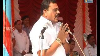 Repeat youtube video Karnala Tv News 11  Nov 2012  Sachin Dharmadhikari Ulwa Program
