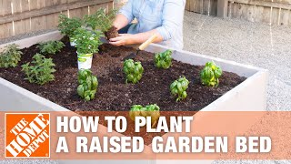 How To Plant A Raised Garden Bed - The Home Depot