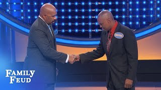 HILARIOUS fast money!!!   Family Feud