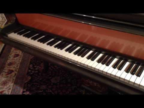 Antique Piano Bush & Lane, Chicago, US