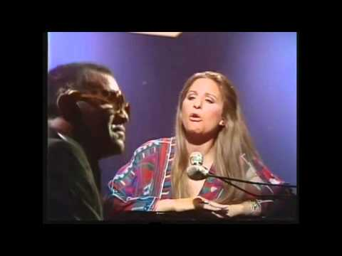 Barbra Streisand y Ray Charles - Crying Time [HD]