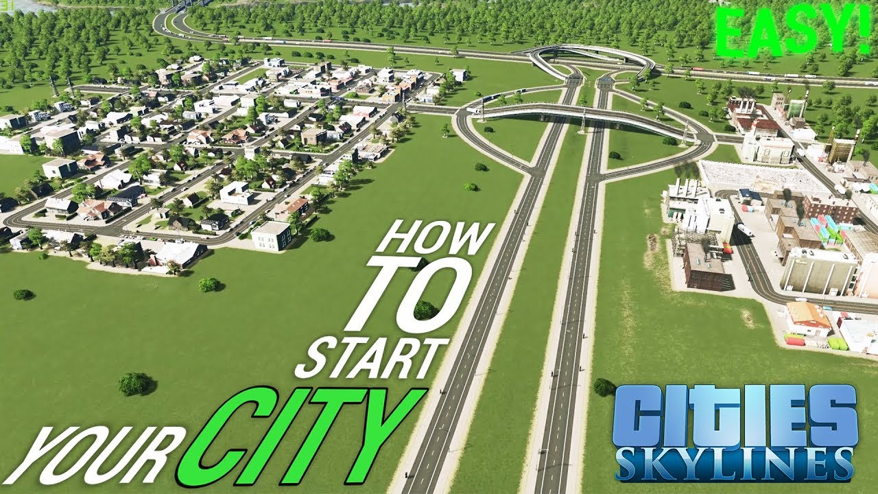 Map Of Germany With Cities And Towns In English.How To Start Your City Easy Road Layout Tutorial English German Cities Skylines