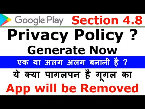 Google Play policy violation warning | App Privacy Policy Generator | Distribution Agreement