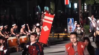 2010 信玄公祭り・甲州軍団出陣・沢村一樹(信玄公役)・伊吹吾郎(山本...