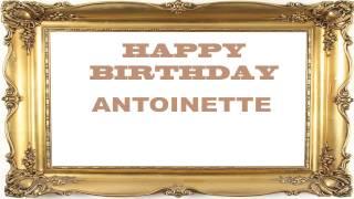 Antoinette   Birthday Postcards & Postales - Happy Birthday