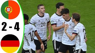 Portugal vs Germany 2 4 All Goals Extended Highlights 2021