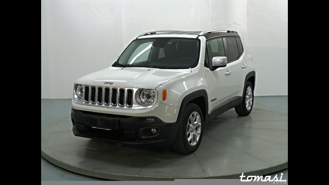 Jeep Renegade 1.6 Mjt Limited - Alpine White - YouTube