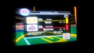 NCAA Football 2004 - National Championship