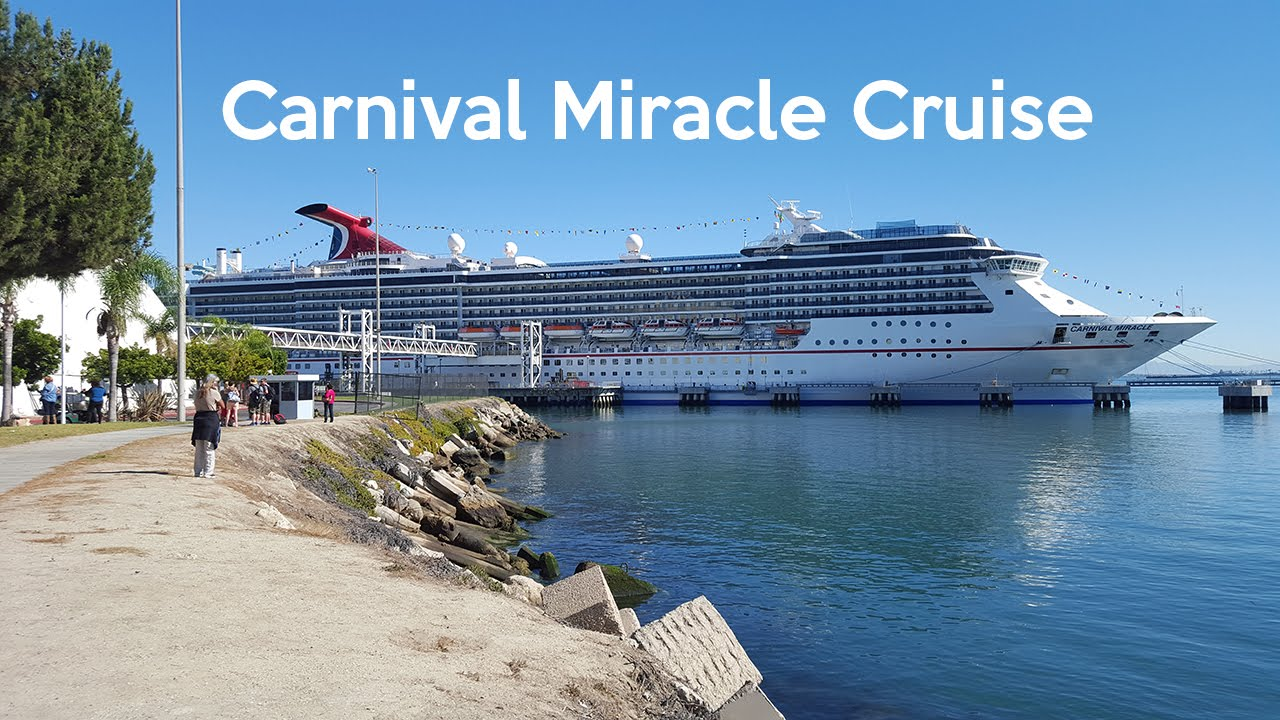 Carnival Miracle 7 Day Cruise