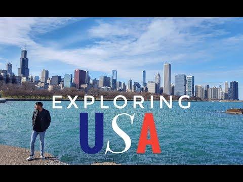 Exploring USA by Dush Vyas  | BOSTON | CHICAGO | PHILADELPHIA | Top Attractions | Travel Vlog