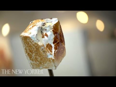 Dominique Ansel, inventer of the cronut, makes a frozen s'more