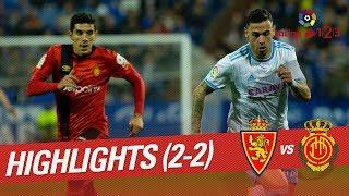 Resumen de Real Zaragoza vs RCD Mallorca (2-2)