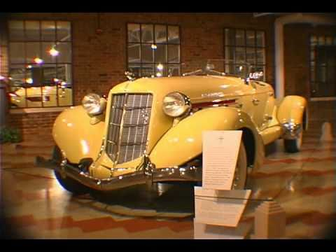 Auburn, Cord & Duesenberg Museum Video. The ACD Museum Is Located In Auburn, Indiana