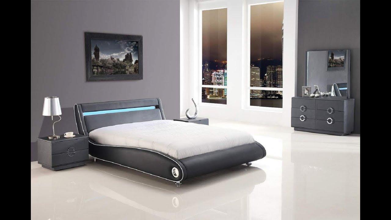 Grey Bedroom Furniture Set Youtube