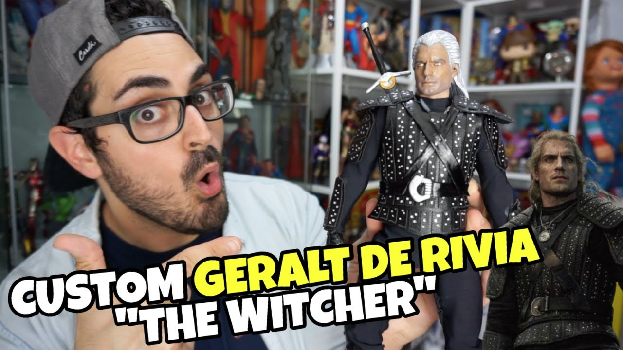 ¡Henry Cavill como THE WITCHER en una figura custom tipo HOT TOYS! 😱