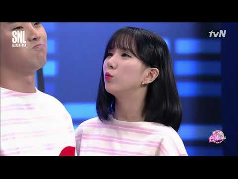 170909 Gfriend SNL Best Couple Contest (Eunha) [ENG SPANISH SUB/CC]