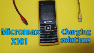 Micromax x101 charging solutions