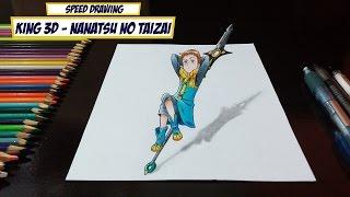 Drawing King 3D - Nanatsu no Taizai (The Seven Deadly Sins)