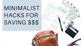 minimalism and money saving