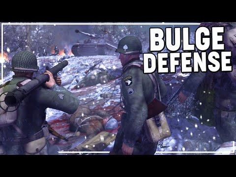 BAND of BROTHERS DEFENDING the BULGE | MoWAS 2 Robz Realism BASTOGNE DEFENSE |