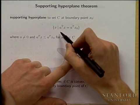 Lecture 2 | Convex Optimization I (Stanford)
