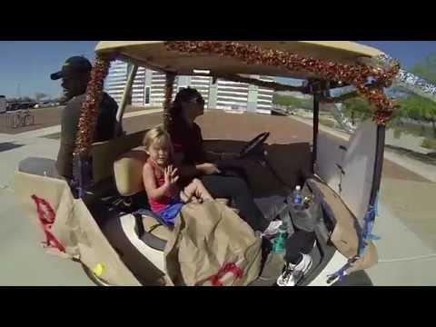 2014 Arizona Western College Homecoming Golf Cart Parade