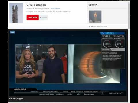 SpaceX Dragon - Soft Landing