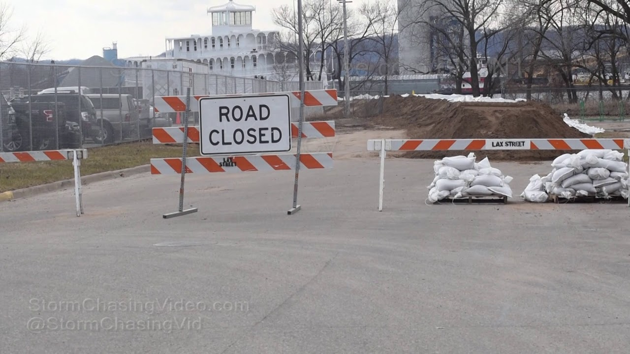 La Crosse Wisconsin, Mississippi River Flooding - 4/2/2019 processed