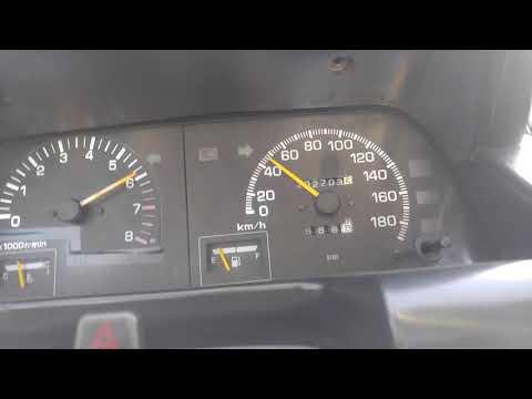 Top Speed Daihatsu Charade Giro G102 1993 1.6