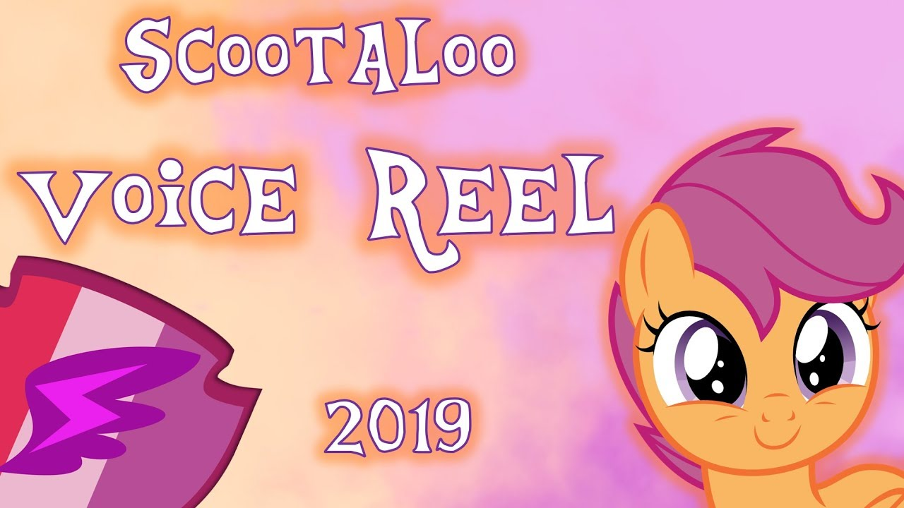 Scootaloo Voice Reel 2019 Youtube This pretty voice has brains too. scootaloo voice reel 2019