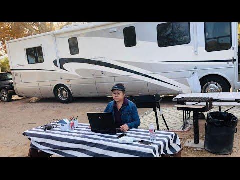 RV-房车露营:网上买年费钓证,工作娱乐两不误,观光,钓鱼,篝火