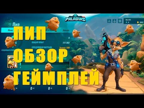PALADINS - ПИП ОБЗОР, ГЕЙМПЛЕЙ
