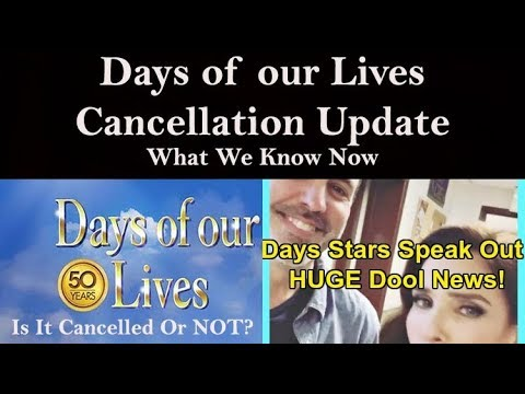 Days Of Our Lives Cancellation Update