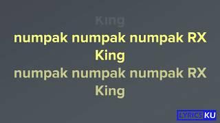 Numpak RX King - Sodiq (Lyrics + Karaoke) by Lyrics-ku
