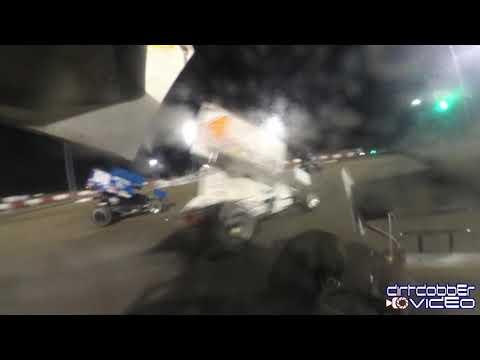 Brandon Grubaugh In Car Camera Hyperframe 360  East Bay Raceway Park 9/21/19