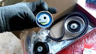 ''GT'' Opel Astra/Zafira DV. Z16XE vaqt kamarini, roliklar va nasos almashtirish. Batafsil video yo'riqnoma!