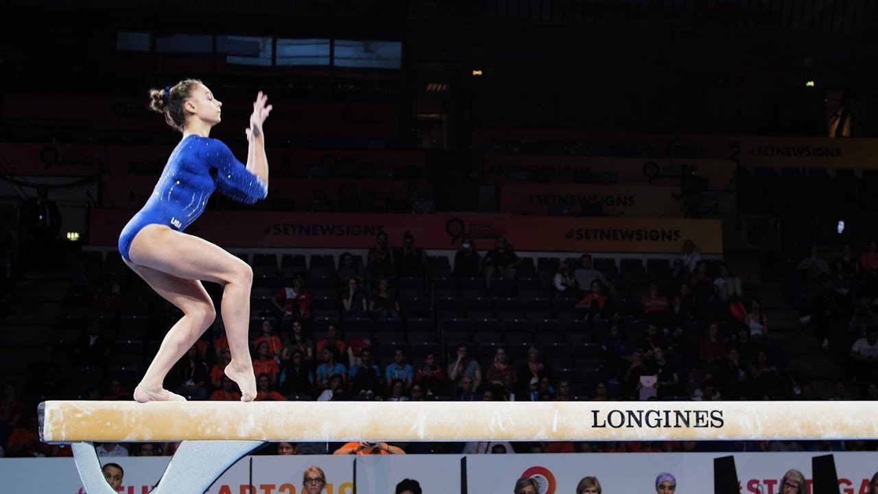 Grace McCallum (USA) BB - 2019 World Championships ...