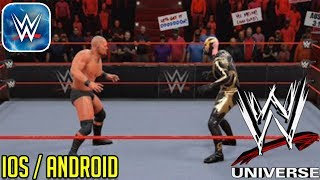 WWE UNIVERSE - iOS / ANDROID GAMEPLAY ( New WWE Mobile Game )