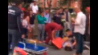 Muere ciudadana en Cali tras tropezar con un delineador vial